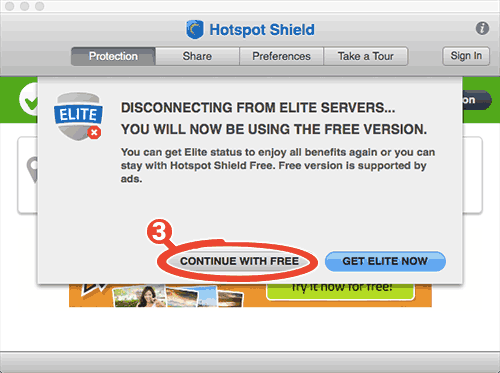 how to use hotspot shield on mac